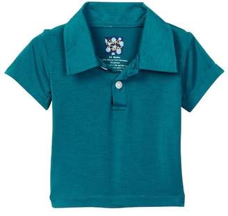Kickee Pants Solid Short Sleeve Polo (Baby & Big Boys)
