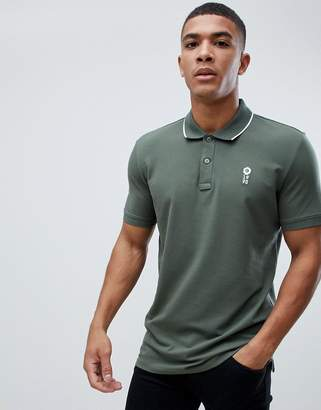 Jack and Jones Core polo with collar taping