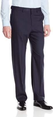 Haggar Men's Premium Performance Stretch Stria Plain Front Suit Separate Pant