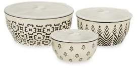 Tag Printed Lid Bowls