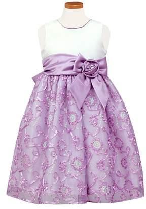 Sorbet Soutache & Sequin Party Dress