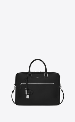 Sac De Jour Men Sac De Jour Briefcase In Grained Leather Black Onesize
