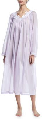 Celestine Nirwana Long-Sleeve Cotton Nightgown