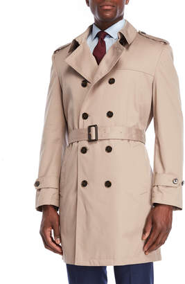 Lauren Ralph Lauren Lowry Belted Double-Breasted Trench