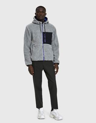 Penfield Atkins Hooded Fleece Jacket in Grey