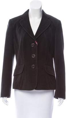 Rena Lange Tweed Structured Blazer