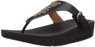 4f25e82a8 FitFlop Women s s Skinny Tm Toe-Thong Sandals Crystal Flip Flops