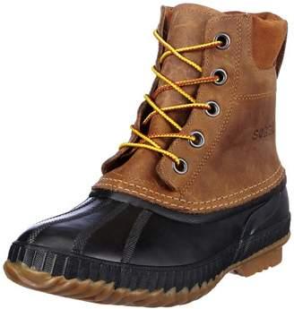 Sorel Cheyanne Lace Full Grain, Men Snow Boots, Brown (Chipmunk/Black 224), 8.5 UK (42 1/2 EU)