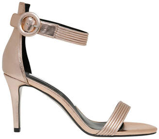 Tessa Rose Metallic Leather Sandal