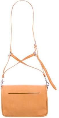 Theyskens' Theory Leather Medium Flap Bag