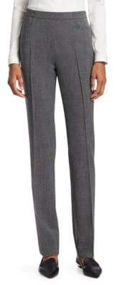 Akris Punto Francoise Pin Dot Trousers
