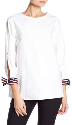 Ted Baker Colorblock Stripe Detail Blouse