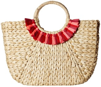 Hat Attack - Round Handle Tote Tote Handbags $112 thestylecure.com
