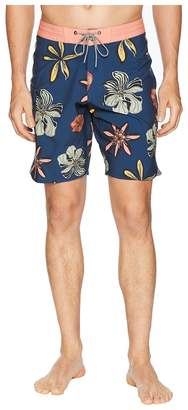 VISSLA Weirdo Four-Way Stretch Boardshorts Men's Swimwear