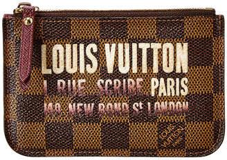 Louis Vuitton Damier Ebene Scribe Key Pouch