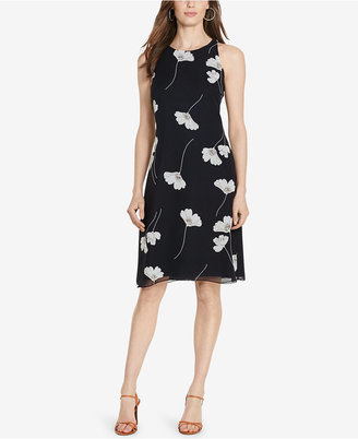 American Living Floral-Print Georgette Dress $79 thestylecure.com