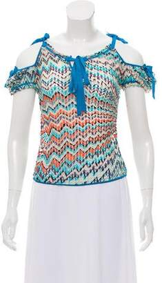 Missoni x Wolford Printed Short Sleeve Top