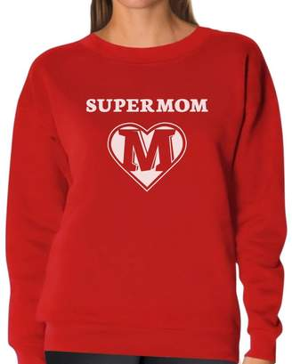 DAY Birger et Mikkelsen TeeStars Super Mom Shield - Mother's Gifts Superhero Mother Women Sweatshirt