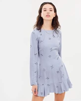 Sky High Long Sleeve Dress