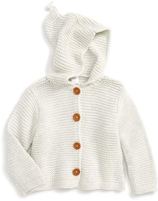 Nordstrom Organic Cotton Hooded Cardigan