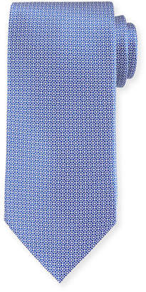 Stefano Ricci Small Medallion Silk Tie