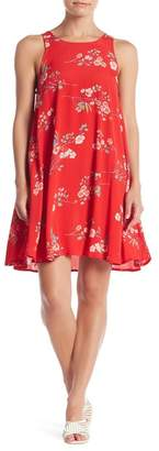 Taylor & Sage Floral Print Sheath Dress