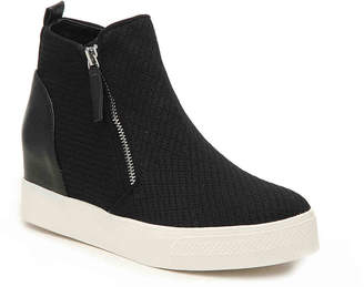 Steve Madden Loxley Wedge High-Top Sneaker - Women's
