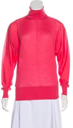 Versace Turtleneck Dolman Sweater