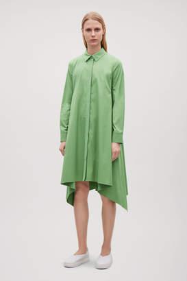 Cos HANDKERCHIEF-HEM SHIRT DRESS