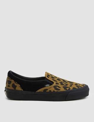 Vans Vault By OG Classic Slip-On LX Sneaker in Leopard/Black