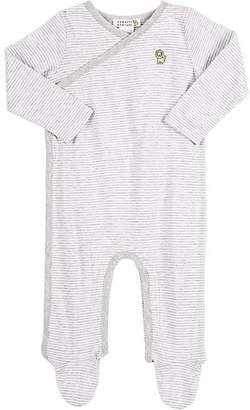 Barneys New York Infants' Striped Footed Coverall