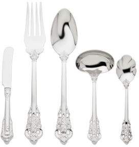 Godinger Five-Piece Accented Stainless Steel Host Set