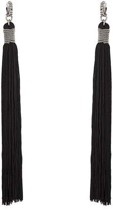 Saint Laurent Women's Loulou Drop Earrings