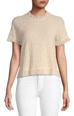 Moon River Tulle Trip Top