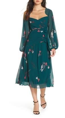Keepsake the Label Night Fall Midi Dress