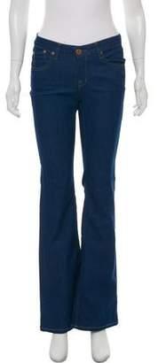Victoria Beckham Mid-Rise Flared Pants
