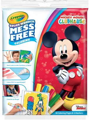 Crayola Disney's Mickey Mouse Mess Free Color Wonder Markers & Paper Set