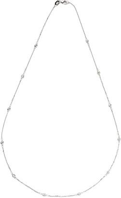 LeVian Suzy Diamonds Suzy 14K 0.30 Ct. Tw. Diamond Station Necklace
