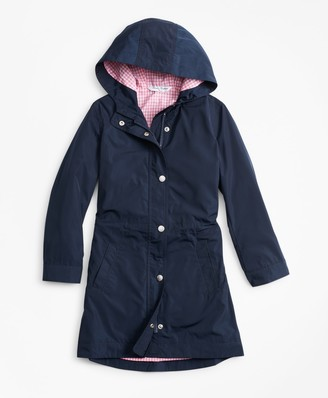 Brooks Brothers Girls Raincoat