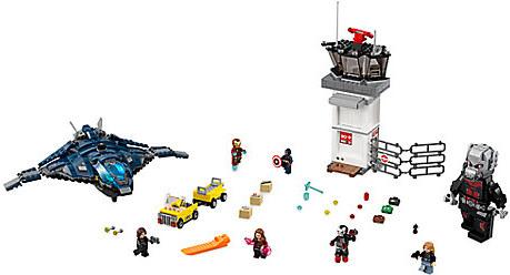 Super Hero Airport Battle Playset by LEGO - Captain America: Civil War
