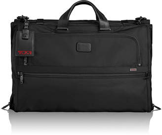 Tumi Alpha 2 Black Tri-Fold Carry-On Garment Bag Luggage