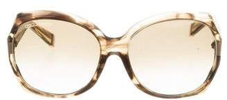 DSQUARED2 Oversize Gradient Sunglasses