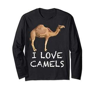 I love Camels Long Sleeve Shirt T-Shirt
