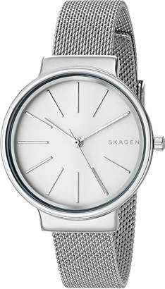Skagen Women's 'Ancher' Quartz Stainless Steel Automatic Watch, Color:-Toned (Model: SKW2478)