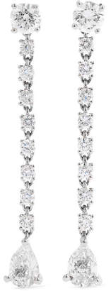 Anita Ko Rope 18-karat White Gold Diamond Earrings - one size