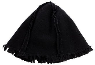 Chanel Chanel Fringed Wool Cloche