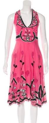 Temperley London Embellished Midi Dress w/ Tags