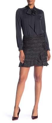 Nanette Lepore NANETTE Boucle Ruffle Skirt