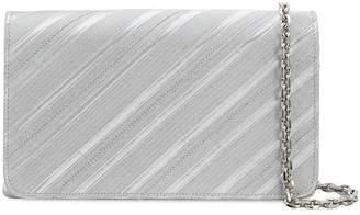 Casadei Velvetop clutch bag