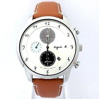 agnès b. (アニエス ベー) - アニエスベー agnesb マルチェロ クロノグラフ ソーラー FBRD973 [国内正規品] メンズ 腕時計 時計
